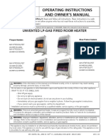 Mr Heater Manual  (propane Heater)