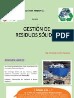 GESTION DE RESIDUO SOLIDOS