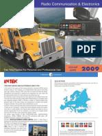Intek 2009 Catalogue
