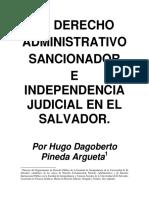 Derecho Administrativo Sancionador Hugo Pineda 1