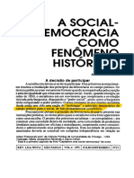 [Przeworski] a Social Democracia Como Fenômeno Histórico
