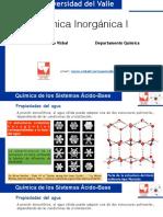 Química de Los Sistemas Ácido Base