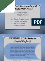 ASKEP ADS (Atrium Septal Defect) PADA