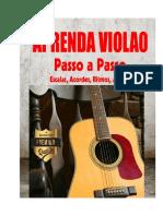 APRENDA VIOLAO PASSO A PASSO