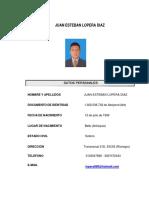 hoja de vida Juan Esteban Lopera Diaz actualizada.docx