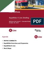 RapidRide K Line Bellevue Presentation