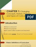 Curriculum Report
