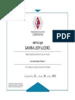 Certificado Uni Colombina