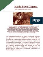 História Do Povo Cigano
