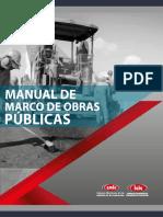 manual de marco de obras publicas cmic