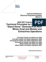 EES 014 Technical Principles for the Use of Stand Alone Generators Version 2 5