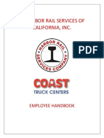 Harbor Rail Employee Handbook 2019