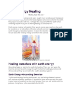 Earth Energy Healing