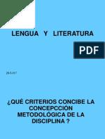 Disciplina Lengua y Literatura ATL