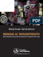 Someda y Seki [Eds.] - Miradas Al Tahuantinsuyo. Aproximaciones de Peruanistas Japoneses [2009]