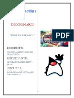 Diccionario de programacion I