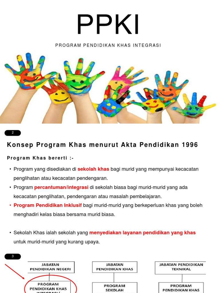Program Pendidikan Khas Integrasi