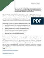 Global Marketing Reading 4- Ejemplo Capacitación