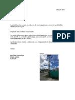 Solicitud en Aviso Comercial Vb JFPG