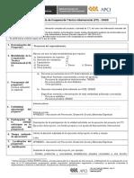 Ficha de Proyecto CTI ONGD Apredes