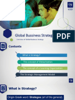 Overview Global Business Strategy
