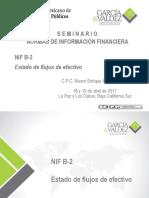 NIF B 2 Estado de Flujos de Efectivo