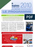 Lettre-Programme Salon Des Maires 2010