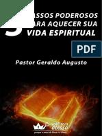 Sequencia 3 Passos Poderosos Aquecer Vida Espiritual