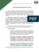 Analisis Del La Ley 27050