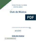 CLUB DE MUSICA EN PRIMARIA