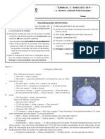 2º Simulado - 2ª Etapa - Língua Portuguesa (2)