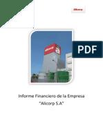 Diagnóstico Financiero de La Empresa Alicorp 2.0