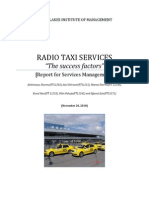 The Radio Taxi - Service Management - November 20, 2010