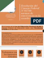 PP - Resolución Del Consejo Federal