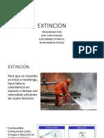 sistemas de extinción de incendios