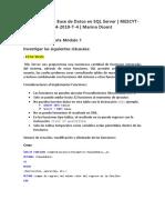 Tarea Introductoria - Módulo 7 - José Augusto Peña Cabrera - 92985