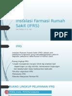 2. Instalasi Farmasi Rumah Sakit (IFRS)