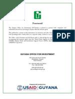 GOI - Guyana Investment Guide 2007