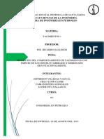Predicción Del Comportamiento de Yacimientos Con Empuje de Gas Disuelto Liberado y Segregado Gravitacionalmente