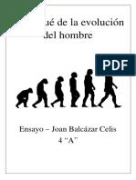 El Porqué de Las Evoluciones