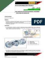 Bitm3045 Temperatura Alta Del Aceite en Los Ejes Delantero y Posterior 844