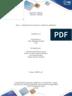Fase 1 – Identificación del escenario y análisis de estabilidad.