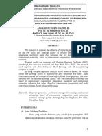 ANALISIS PENGARUH MEKANISME CORPORATE GOVERNANCE TERHADAP NILAI PERUSAHAAN DENGAN KUALITAS LABA SEBAGAI VARIABEL INTERVENING PADA PERUSAHAAN MANUFAKTUR YANG TERDAFTAR DI  BURSA EFEK INDONESIA PERIODE 2004-2007.pdf