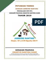 Petunjuk Jamran Dawe SMP MTS 2019