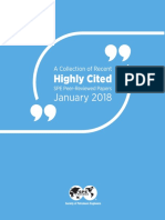 Highly cited papers