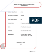 Informe de Planificacion Tributaria