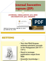 CHED Journal Incentive