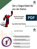 Sesion Sincronica 18 Junio 2019