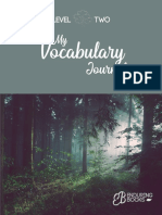 Level 2 - My Vocabulary Journal