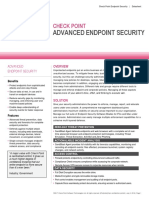 Endpoint Security Datasheet